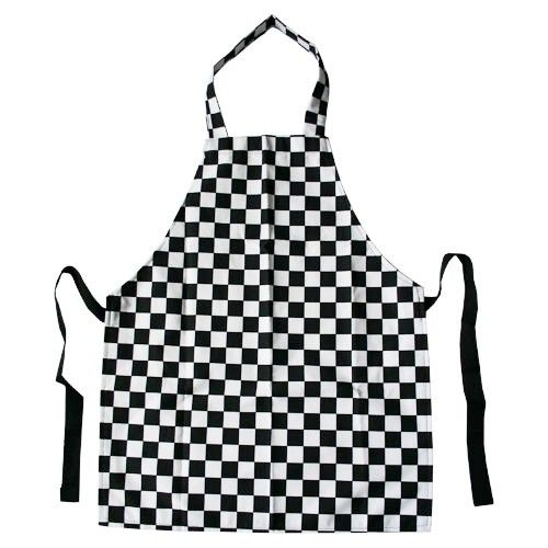 black check pvc apron - Cooking Aprons