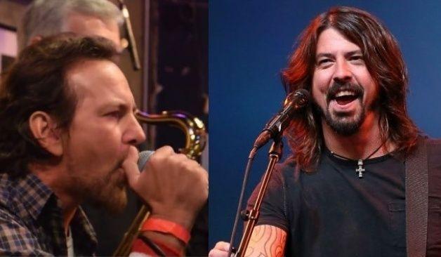 Foo Fighters y Eddie Vedder en sendos shows íntimos por el Record Store Day