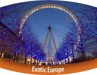 Exotic Europe Tour - 17 Nights / 18 Days   On this tour you will cover 10 countries and 31 major cities.   Tour Price STARTING FROM: Rs. 2,87,000/-* per adult on twin sharing basis.  #tour #travel #holiday #fun #europe #tourism