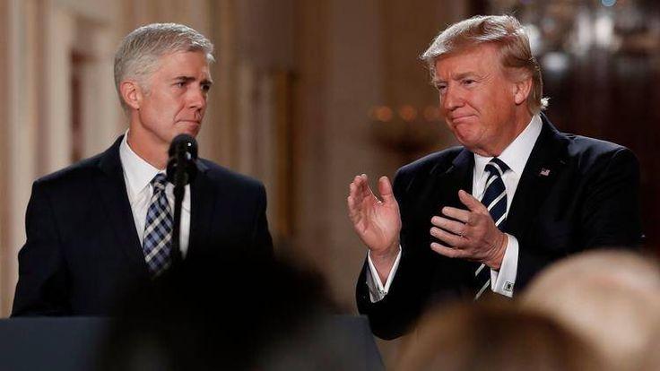 Senate set for dramatic showdown over TrumpSupreme Court nominee Gorsuch
