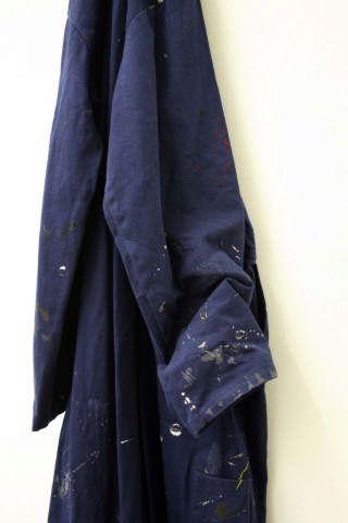 Susan Collis, '100% Cotton', boiler suit, embroidery thread, 2002.  © Susan Collis.