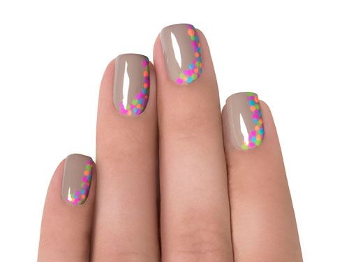 manicuremonday how to  fun dotted mani