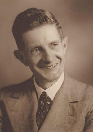 Portrait of Arthur William Upfield, ca. 1930 (pic by Austin Murcott Studios) Photo: National Library of Australia