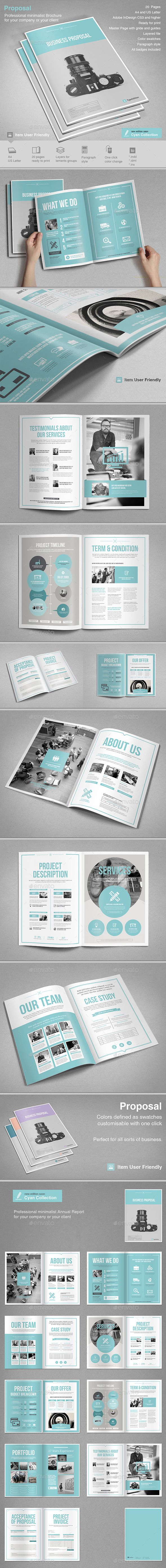 Proposal Template #design Download: http://graphicriver.net/item/proposal-vol-2/12586845?ref=ksioks