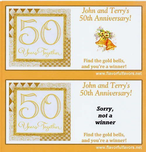 50th Wedding Anniversary Favor Ideas: 25+ Best Ideas About 50th Anniversary Favors On Pinterest