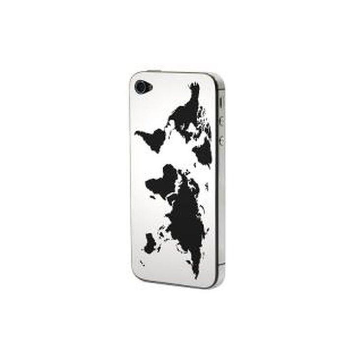 Προστατευτικό Αυτοκόλλητο για iPhone 4/4S (Welt)
