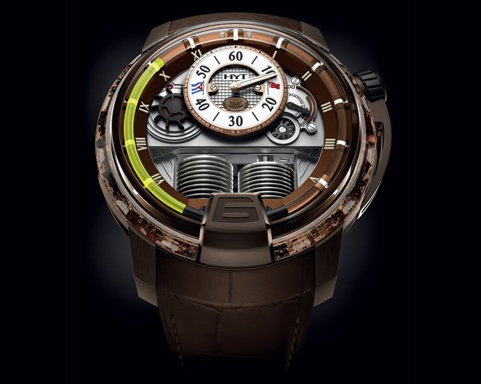 HYT H1 Cigar with Liquid Time Keeping Technology is Top-Notch