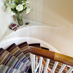 I want to walk down these stairs: eclectic staircase by LDa Architecture & Interiors