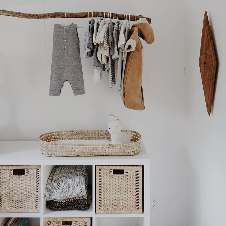 I looked everywhere for a shallow basket for the change table (and by everywhere I mean from the couch I searched the depths of the Internet) and with no success I decided to buy & cut a Moses basket, it actually turned out great and didn't all unravel