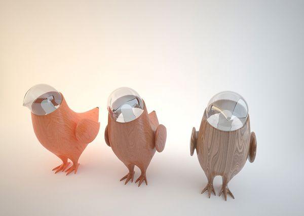 Luminária Pássaros