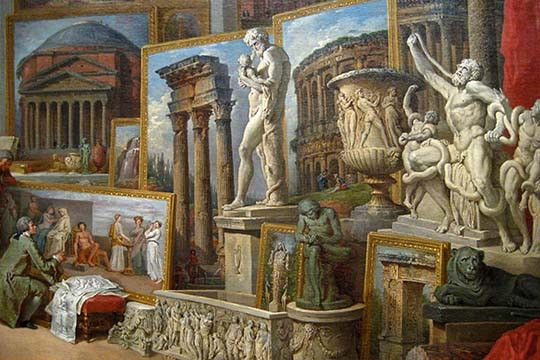 Ancient Rome. High quality vintage art reproduction by Buyenlarge. One of many rare and wonderful images brought forward in time. I hope they bring you pleasure each and every time you look at them.