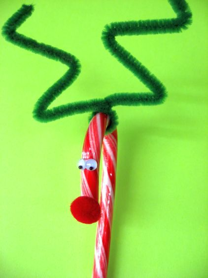 Gotta love candy cane reindeer for kiddos to make