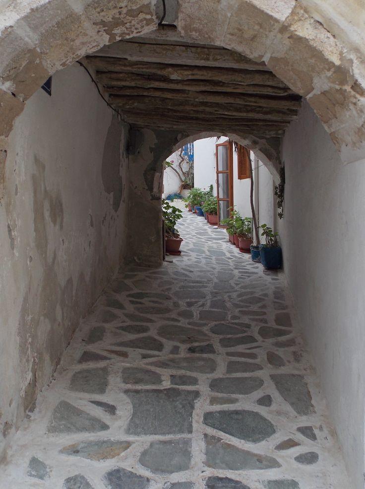 Naxos town, Naxos Island, Greece. photo by Ηλιασ