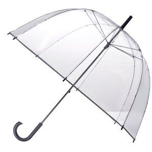 Bubble umbrella. bought a similar one in NYC.