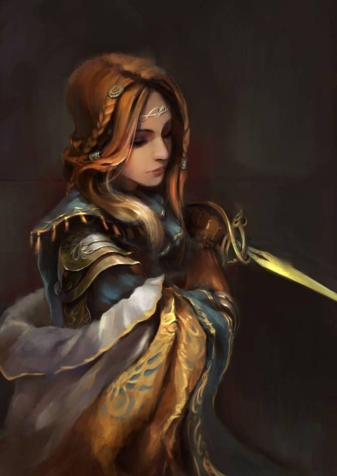 1253 best images about fantasy art valkyries warriors - Fantasy female warrior artwork ...