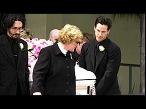 Keanu Reeves in Funeral girlfriend Jennifer Syme | Keanu ...