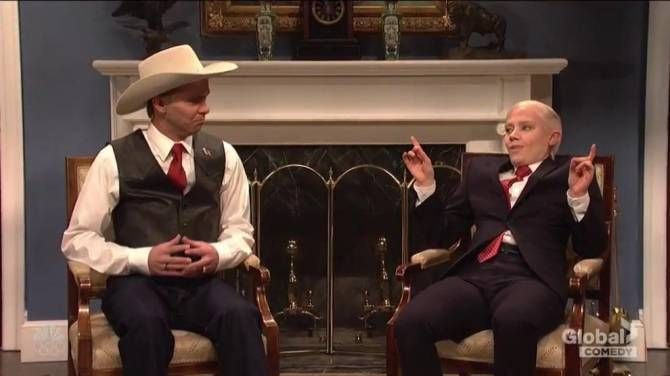 """SNL skewers Republican Senate candidate Roy Moore https://tmbw.news/snl-skewers-republican-senate-candidate-roy-moore  Saturday Night Live took aim at Republican Senate candidate Roy Moore over his allegations of sexual misconduct with teenage girls in this week's opening sketch.With U.S. President Donald Trump on tour in Asia, Moore is called to the White House to meet with Vice-President Mike Pence .After the introduction, Pence says to Moore, """"Roy, I don't have to tell you that the Senate…"""