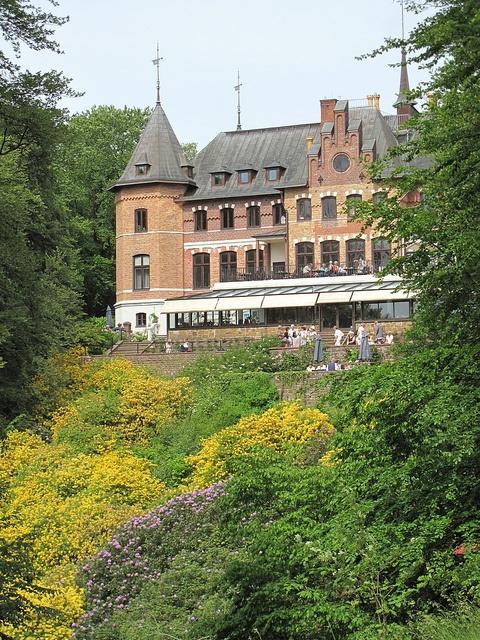 Sofiero Slott (slott=castle), Sweden