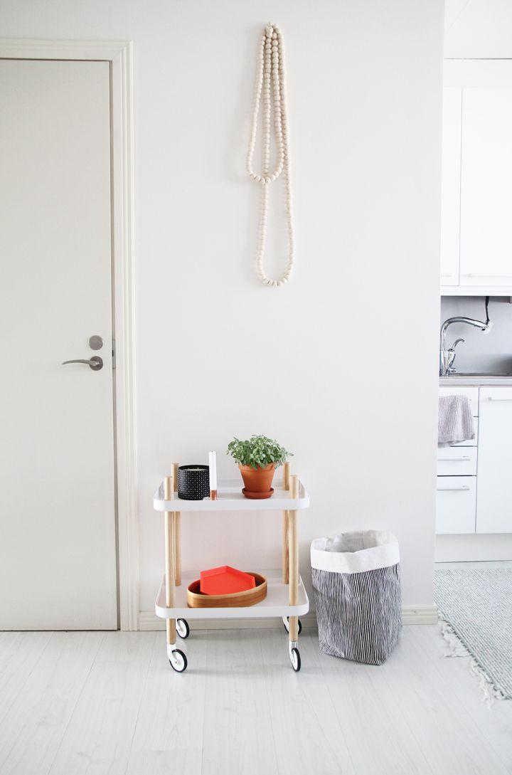 Hall Eteinen Keittiö Kitchen Normann Copenhagen Marimekko Hay
