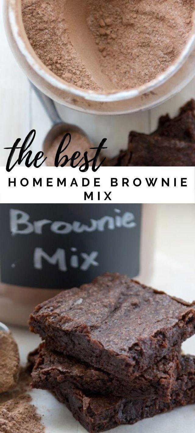 The Best Brownie Mix Recipe Dessert Cake Recipes Homemade