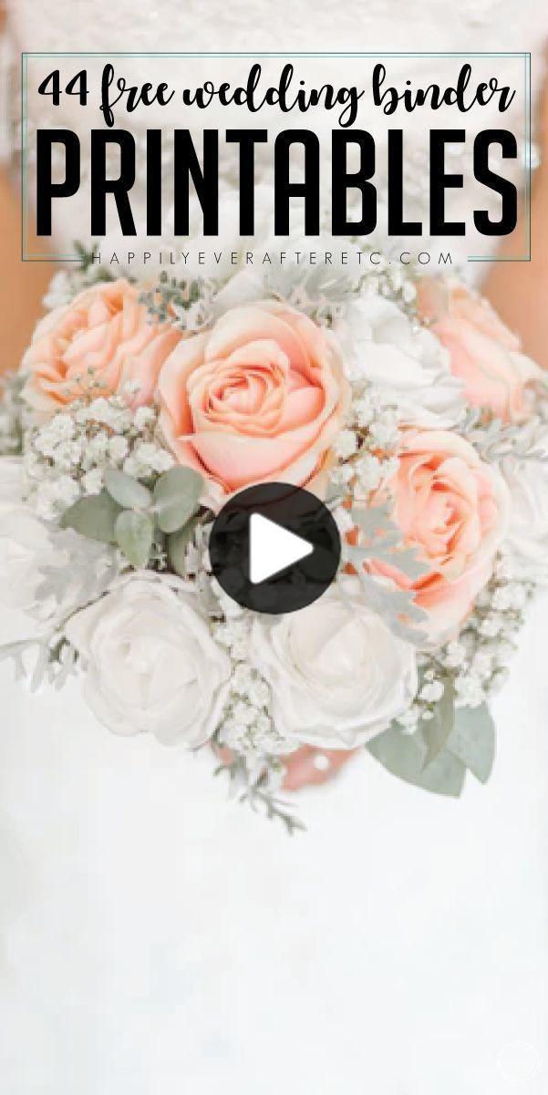 あなたのパーフェクト 無料 ウェディング バインダー一緒に入れてどのように 42の無料結婚式のprintablesを Free Wedding Wedding Binder Diy Wedding Planning