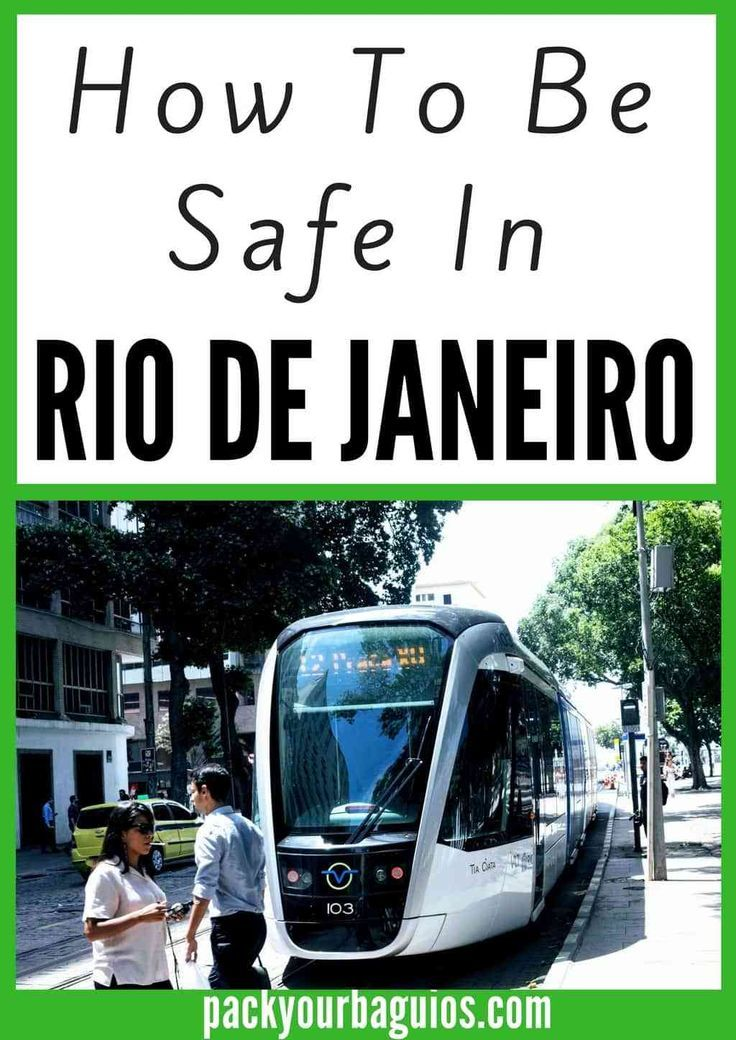 Stay safe in Rio De Janeiro Brazil. Learn personal and health safety tips you may encounter at the beach and in the city.