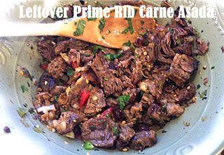 Leftover {Prime Rib} Carne AsadaOne Good Thing by Jillee | One Good Thing by Jillee