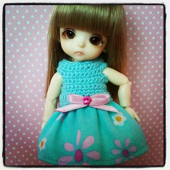 Clothes for Lati White sp with panties and headband di Style4Bjd, €15.00