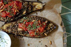 .Rezept: Vegane marokkanische Melanzani mit Linsenfüllung > Kleine Zeitung