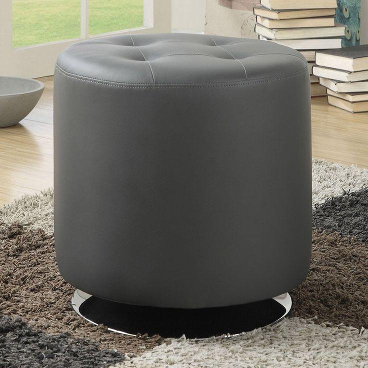 Coaster Furniture Bishop Ottoman Bench Grey - 500555