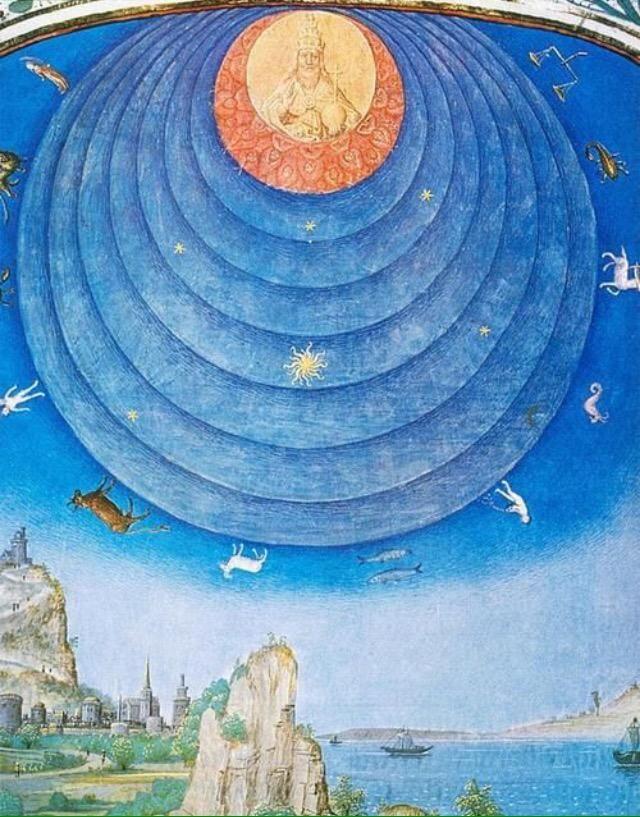 """Simon Marmion, """"Halo astronómico"""", 1460"""