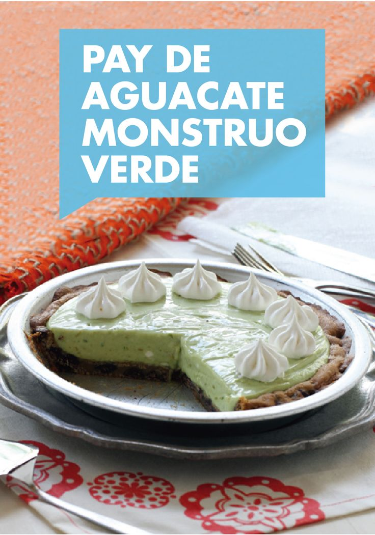 Esta tarta de aguacate monstruo verde es la respuesta a todas tus ocasiones festivas. Con corteza de galletas de pepitas de chocolate, un suave queso crema y relleno de leche condensada La Lechera, este postre, perfecto para compartir, va a hacer que su familia sea todo sonrisas.