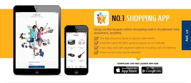 Start Reviewing #lazada shopping app! The best app from South East Asia! #asia #shopping