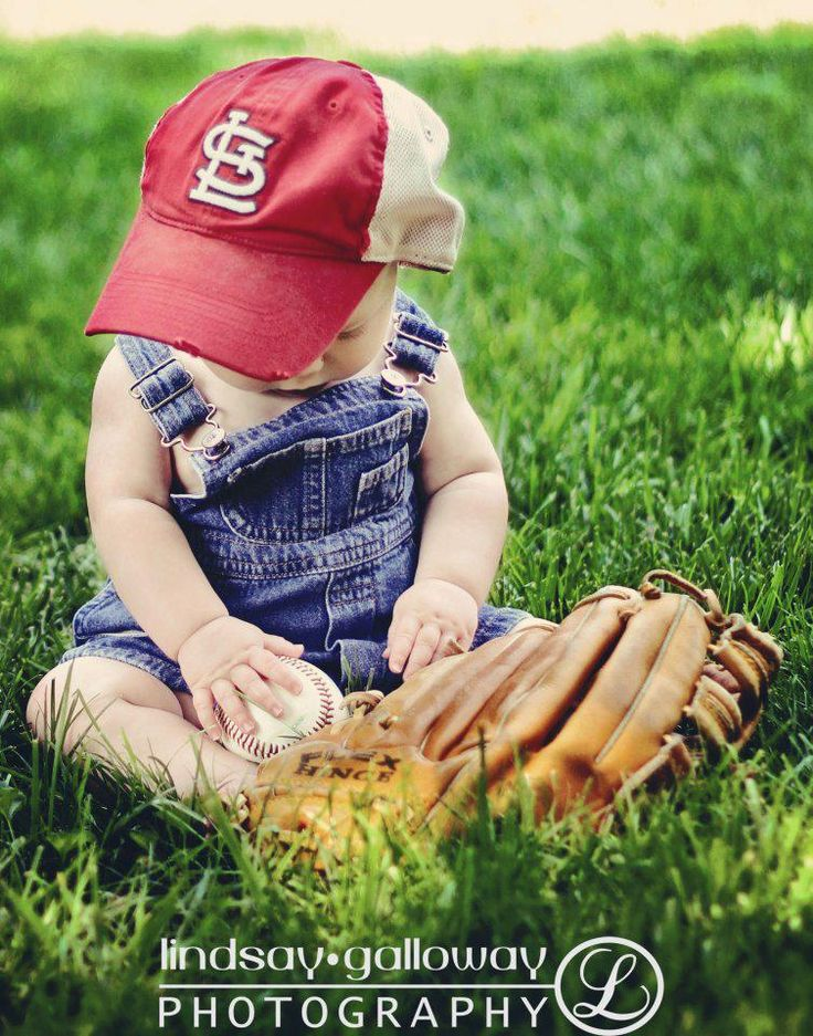 baby baseball love.  Cute photo idea for 6-9 month baby boy shoot