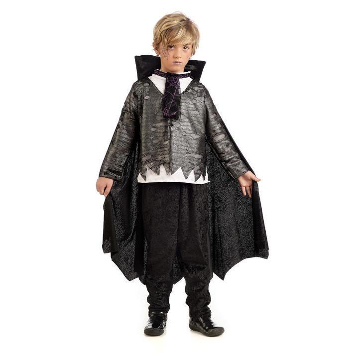 Disfraz de vampiro gris para niño