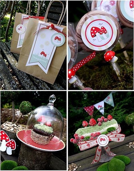 Little Red Riding Hood Inspired Woodland Party