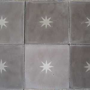 star concrete tiles