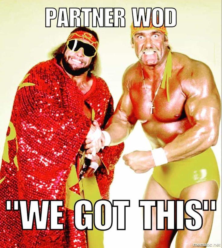 Macho Man and Hulk Hogan Meme