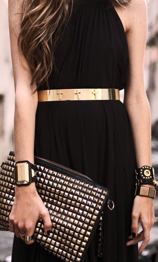 Black + gold - Sofisticada e Linda