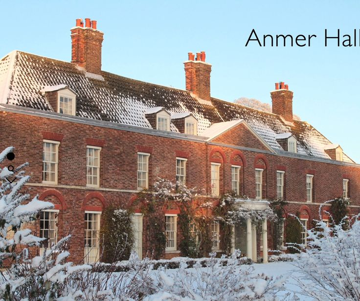 58 best images about anmer hall on pinterest humble pie for Anmer hall