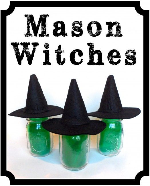 Mason Witches - Oh My Creative