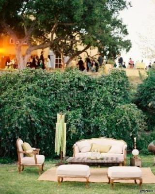 Salotto in #giardino ... so #country!