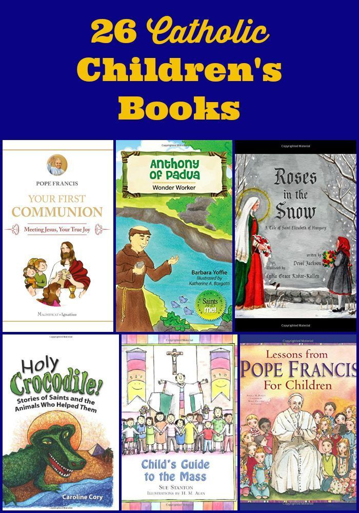 26 Catholic Children's Books
