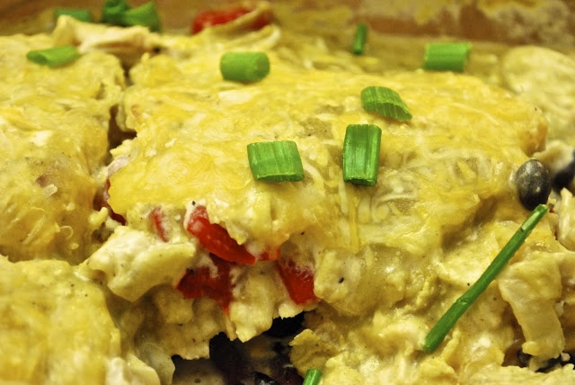 Chicken Tortilla Chip Casserole (PointsPlus: 10)