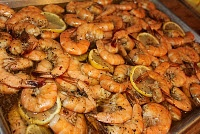 New Orleans BBQ Shrimp - I substitute white wine for the beer. And I can never find shrimp with the head on so I don't worry about it.  However, it's still sooo freaking good.  Have lots of napkins.  Maybe wear a bib.