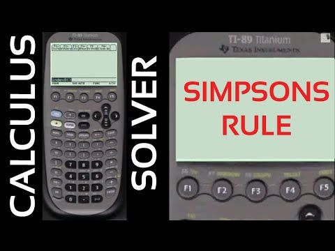 Simpsons Rule Test Question | Every Step Calculus
