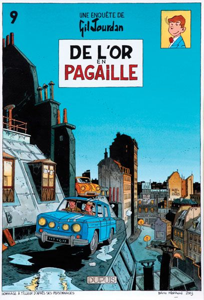 Gil Jourdan - Cover of De L´or en Pagaille