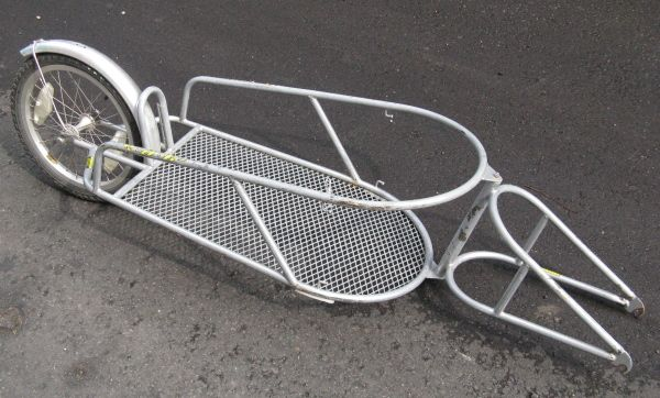 diy bicycle trailer