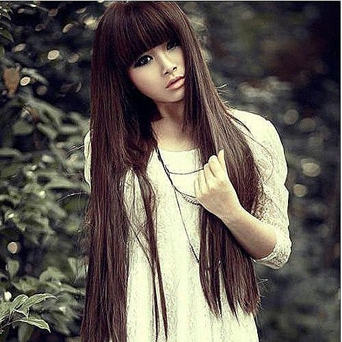 Awesome cute Korean hairstyles for long hair #awesome #hairstyles #korean