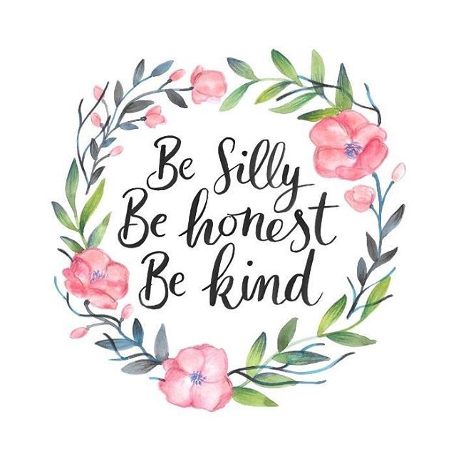 Reposting @educationtree: 'Be silly, be honest, be kind' Ralph Waldo Emerson